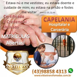Curso de Capelana Hospitalar e Carceraria